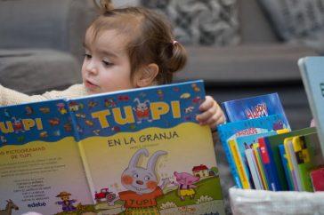Pictogramas: TUPI en la granja y los libros infantiles