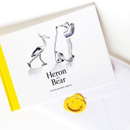 Heron and Bear, una historia de amistad