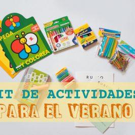 6 actividades para las vacaciones infantiles