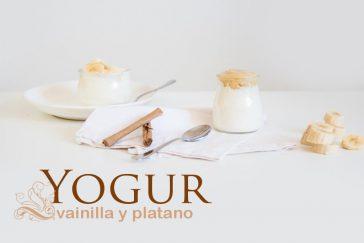 Receta de yogur casero de vainilla y plátano