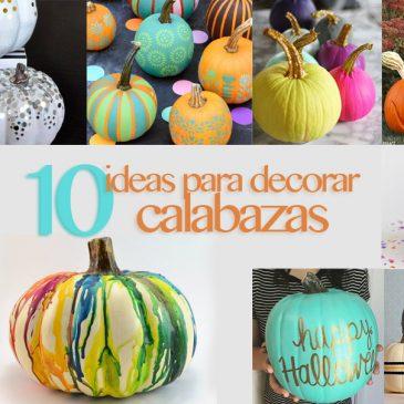 10 ideas para decorar calabazas con niños