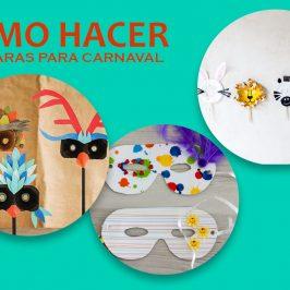 Máscaras de última hora para Carnaval
