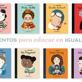 Libros para hablar de igualdad de género con niños