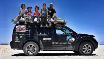 El vuelo de Apis y su aventura a lo largo de Sudamerica