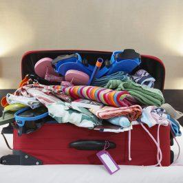 Cómo hacer una maleta cuando tienes poco espacio y viajas con niños