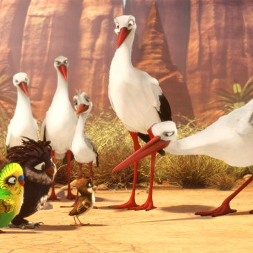 «Richard, La Cigüeña», cine infantil con valores sociales