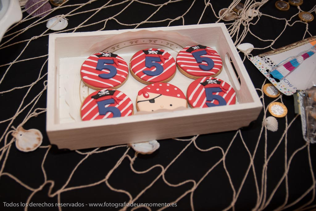 galletas para cumpleaños de 5 años