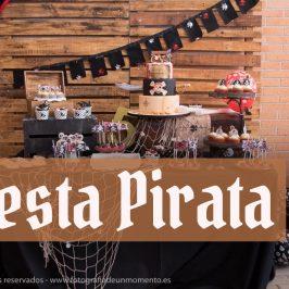 Cumpleaños temático de piratas