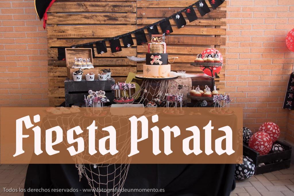 Fiesta pirata para niños