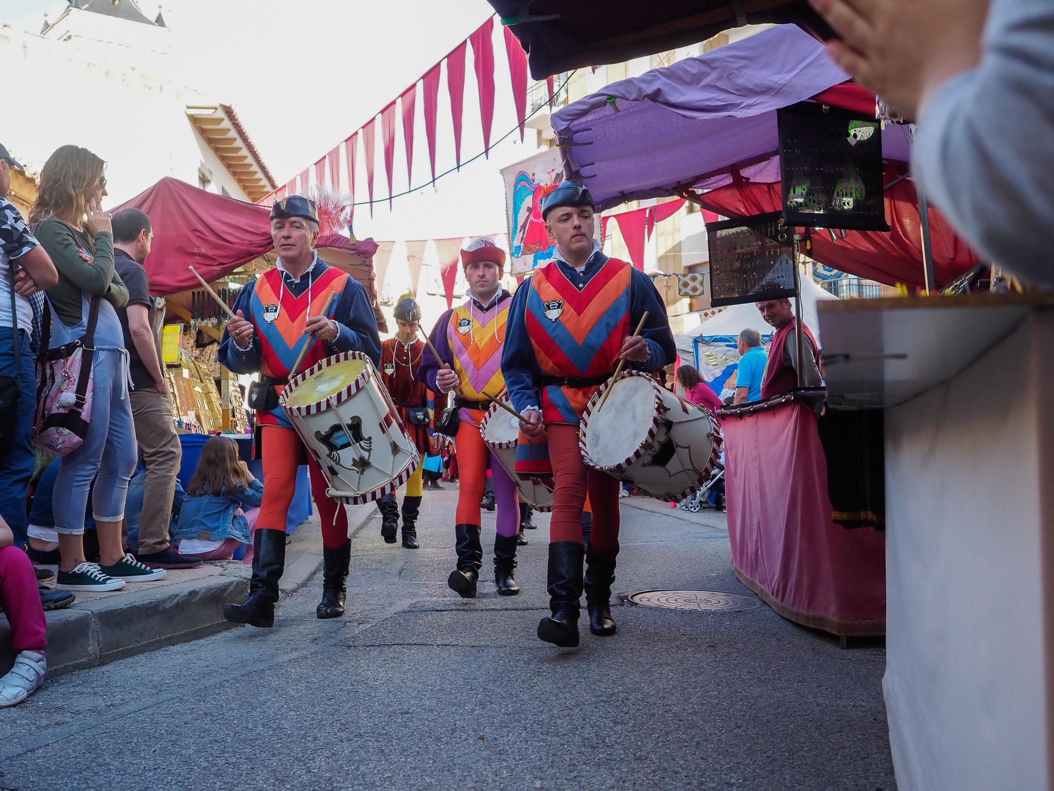 desfile medieval Torrijos