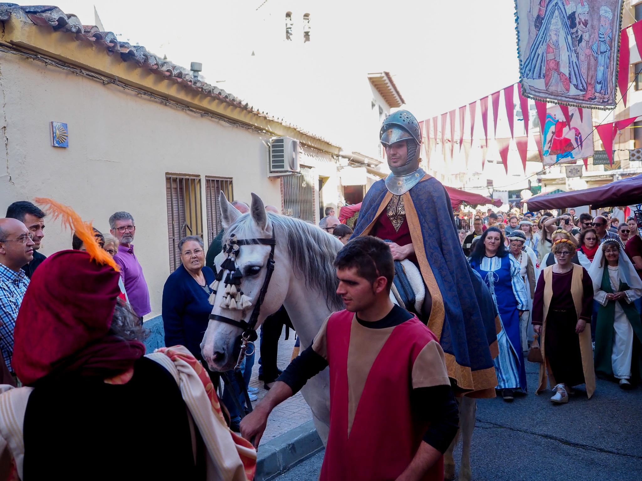 Llegada del rey Don Pedro fiesta medieval