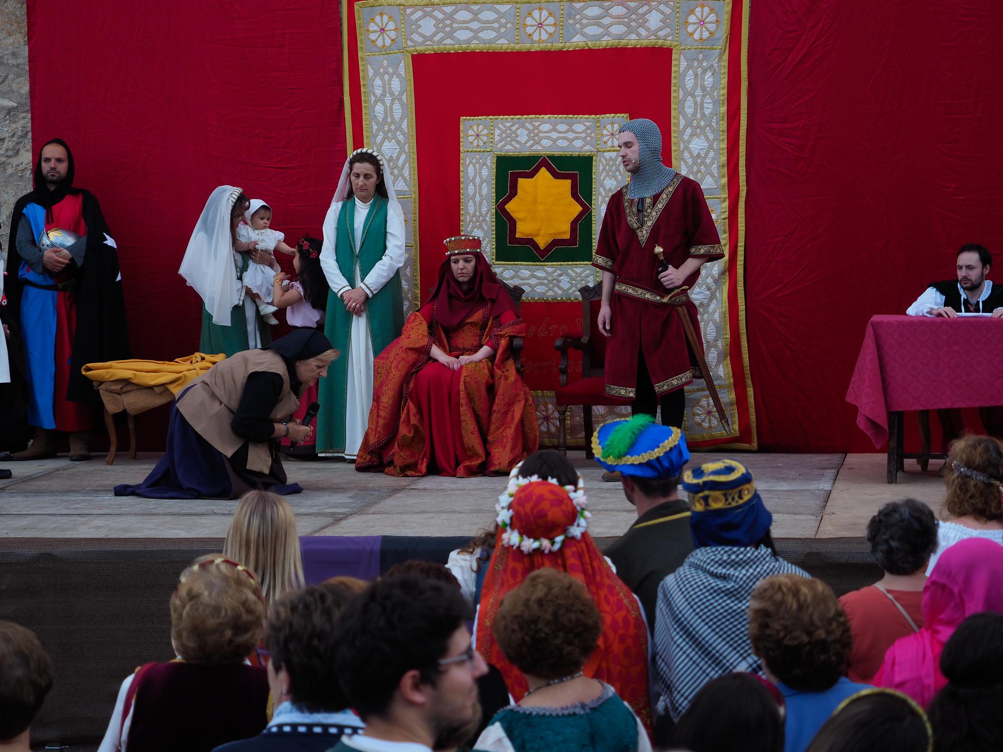 Representación histórica fiesta medieval