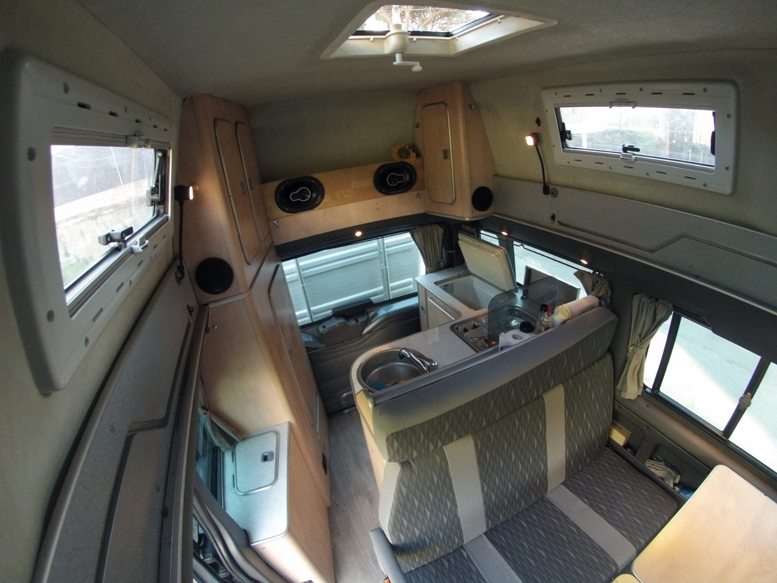 interior ford transit nugget