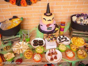 Fiesta de cumpleaños de Halloween